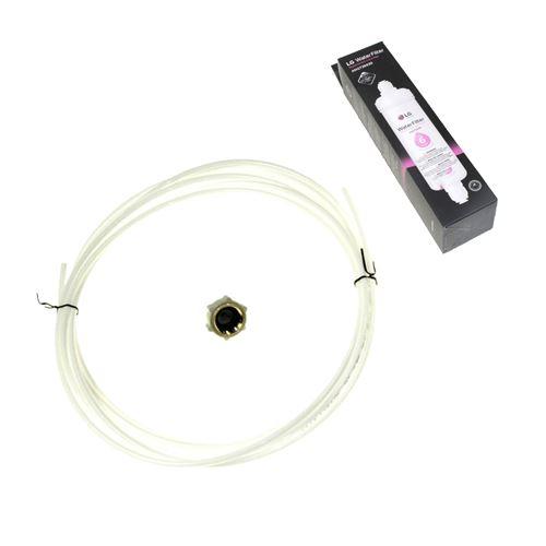 Kit filtre à eau d'origine 3890JC2990A (avec tuyau + raccord) Réfrigérateur, congélateur 3219JA3001Y LG - 51329