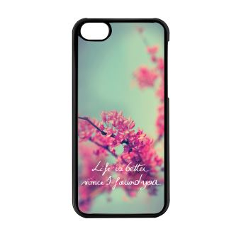 Blackase Coque Pour Iphone 5c Fleur Cerisier Du Japon Saint