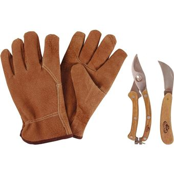 Esschert Design Jeu d\'outils de jardinage GT43