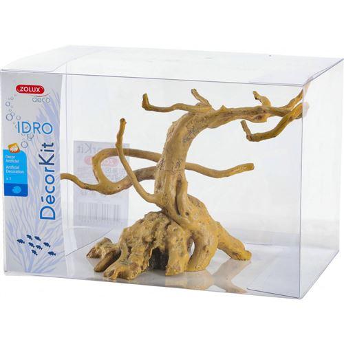 Décor. kit Idro racine n° 3. dimension 28.5 x 18 x Hauteur 19.5 cm. pour aquarium. - zolux - ZO-352168