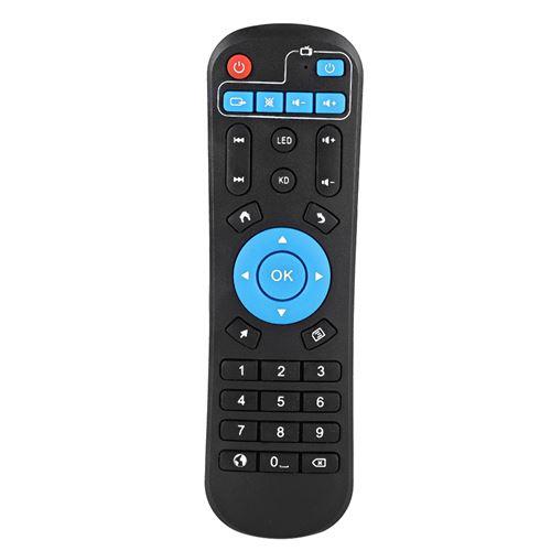 Télécommande pour boîtier décodeur, Set de Remplacement Décodeur STB Télécommande pour T95Z Plus T95