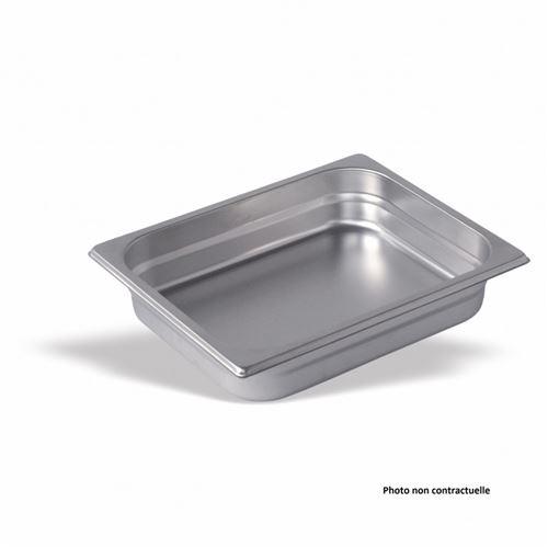 Bac Gastro Inox GN 1/2 - H 200 mm - Pujadas - Inox 1200 cl
