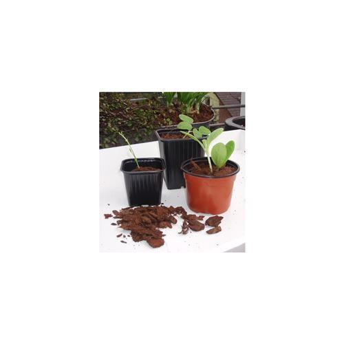mini-serre - pack germination - pack bouturage lot de 20 pots bouturage polystyrene7x7x6cm