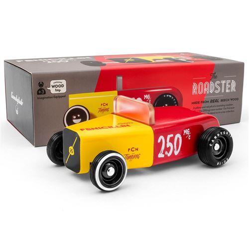 Petites voitures et mini modèles rétro classiques en bois Candylab Outlaw Véhicules design pour enfants et adultes - Penicillin OTLW-003