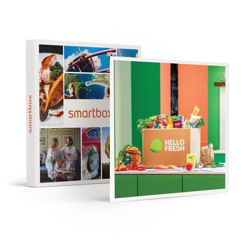 SMARTBOX - Menu 3 repas HelloFresh livré à domicile à choisir parmi une sélection de recettes saines et originales - Coffret Cadeau