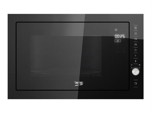 Beko MGB25333BG - Four micro-ondes grill - intégrable - 25 litres - 900 Watt - noir