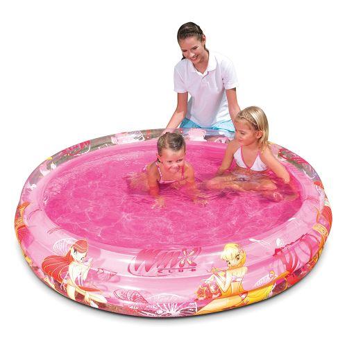 Piscine Winx rose gonflable 152 x 30 cm pour enfants 3+ ans 92007