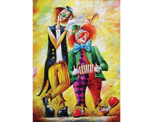 Puzzle 500 Pièces : Drôles de Clowns, Art Puzzle