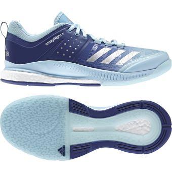 san francisco e603b ec8a1 Chaussures Femme adidas Crazyflight X Bleu-38 2 3 Noir - Chaussures et  chaussons de sport - Achat   prix   fnac