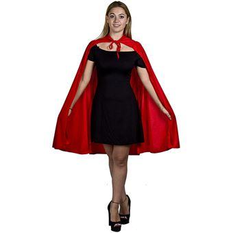 sélectionner pour authentique classique chic rencontrer Déguisement de super héros Unisexe avec une magnifique cape Rouge de  qualité de 101cm de long
