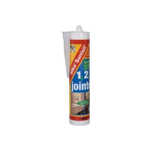 Mastic silicone anti-moisissure SIKA Sanisil - Transparent - 300ml