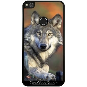 coque loup pour huawei p8 lite 2017