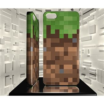 Coque rigide pour iPhone 5 5S Minecraft 01
