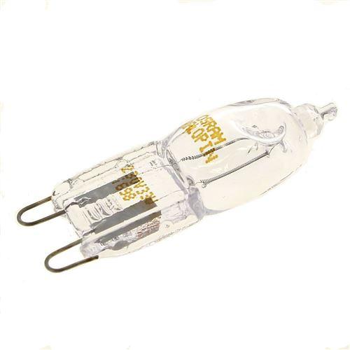 Ampoule four 40w halogene g9 pour Four Bosch, Four Siemens, Four Bauknecht, Cuisiniere Accessoire, Droguerie Accessoire, Four Scholtes, Four Faure, Cu