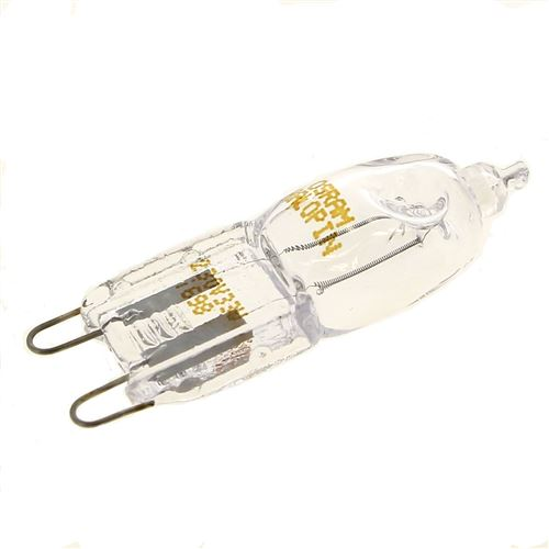 Ampoule four 40w halogene g9 pour Four Whirlpool
