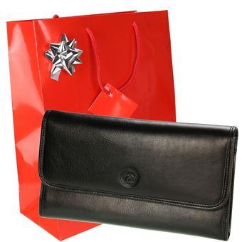 Portefeuille Cuir Porte Clés Emballage Pack S5661 Cadeau Femme