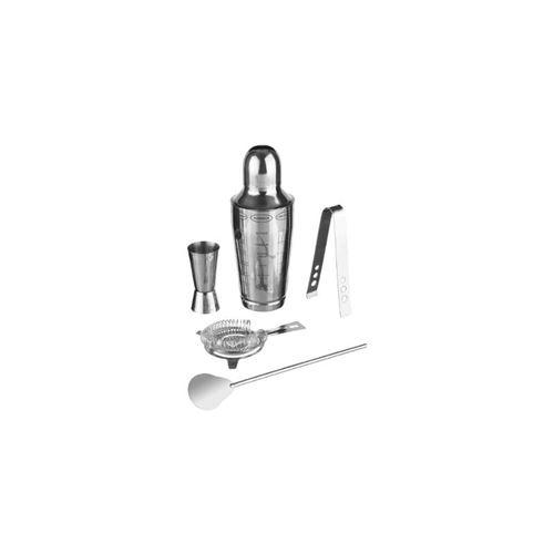 Coffret fabrication de cocktail - 5 pièces - Acier inoxydable