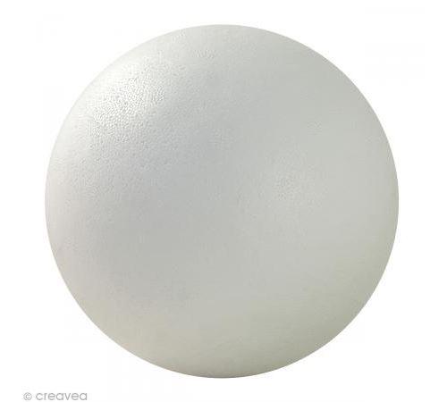 Boule en styropor 15 cm