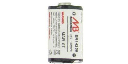 Pile spéciale 1/2 R6 MicroBatt ER14250M 3.6 V 1200 mAh 1 pc(s)