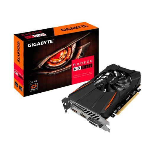 Gigabyte Radeon RX 560 OC 4G. Processeur graphique famille: AMD, Processeur graphique: Radeon RX 560, Résolution maximale: 7680 x 4320 pixels. Carte graphique distincte: 4 Go, Type de mémoire de l´adaptateur graphique: GDDR5, Mémoire Bus: 128 bit. Version