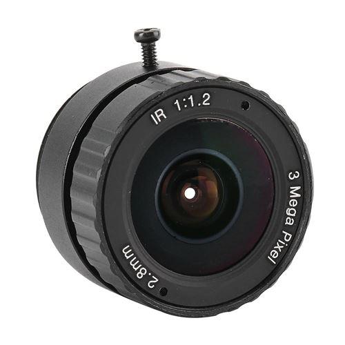 Objectif Focale Fixe 2.8 mm 3MP Pour Caméra CCTV de Sécurité Surveillance