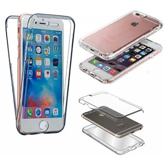 Coque Etui Silicone Gel Integrale 360 Protection pour Apple Iphone 6 6S