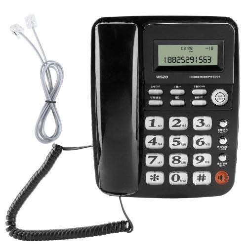 W10 Poste Téléphone Fixe Sans Fil / Téléphone De Bureau / Mobile