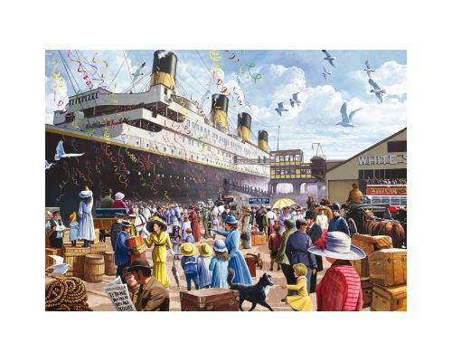 Puzzles Titanic Puzzle-1000-Pieces-Titanic-King-International