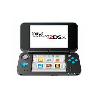 Console Nintendo New 2DS XL Noir et Turquoise