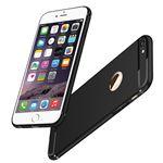 Coque TPU silicone mat souple ultra-fine avec protection de ports connectifs pour Apple iPhone 6/ 6s - NOIR