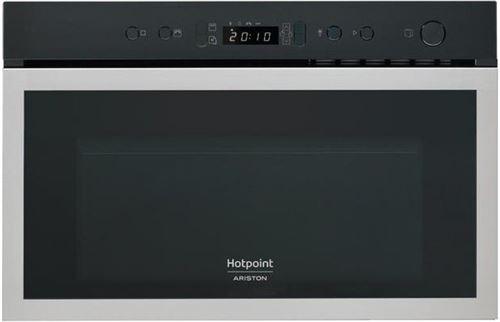 Hotpoint Mh 600 Ix Micro-ondes Combine Encastrable Inox Anti-trace - 22l - 750 W - Grill 700 W