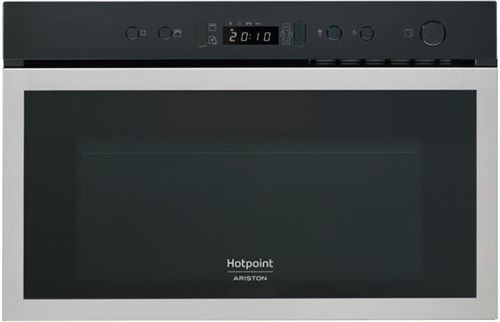 Hotpoint Ariston MN 613 IX HA - Four micro-ondes grill - intégrable - 22 litres - 750 Watt