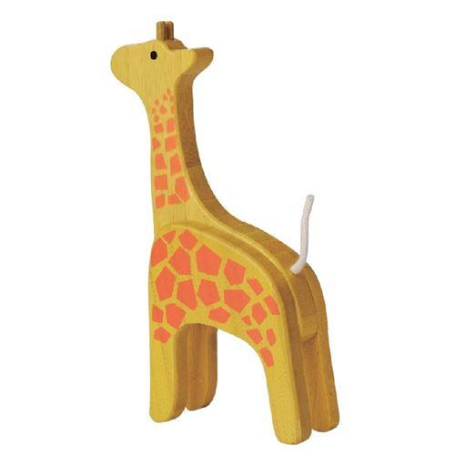 Everearth avatar girafe jaune 10x18x4 cm