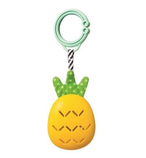 Taf Toys hochet Pineapplejunior 26 cm jaune/vert