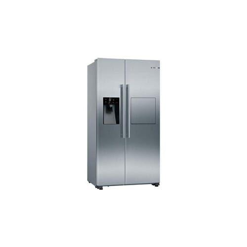 Réfrigérateur américain 531L Froid Ventilé BOSCH 90,8cm A++, KAG93AIEP