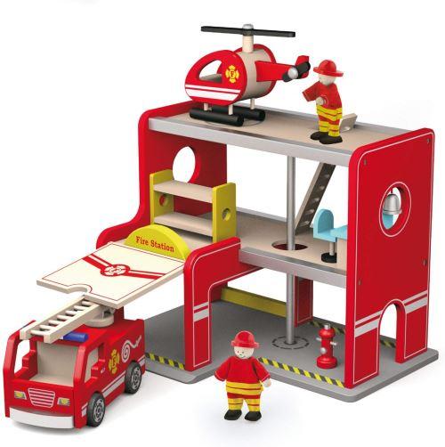 Viga Toys - 50828 - Station de Pompiers