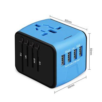 Universel Chargeur de Voyage International Plug Mobile Adaptateur Royaume-Uni à l/'UE aus USA NZ