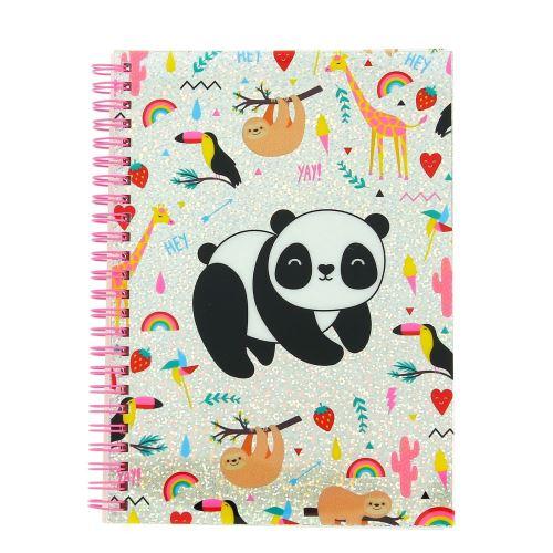 Carnet de notes Happy Zoo Just Hanging A5