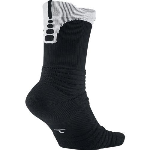 Chaussettes de Basketball Nike Elite Versatility Noirblanc
