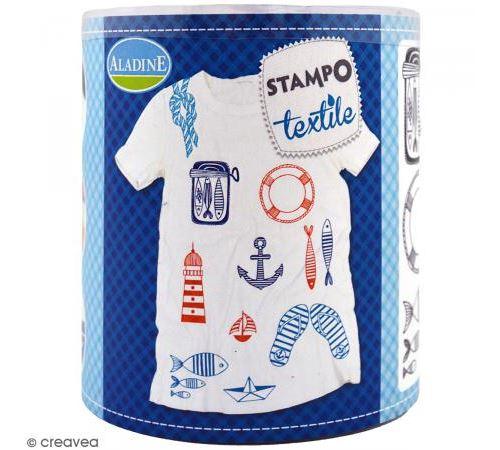 Stampo Textile - Navy