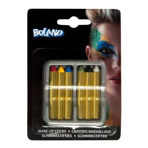 6 crayons maquillage