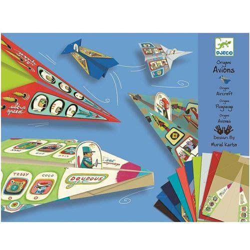 Avions Origami Djeco Pliage Papier