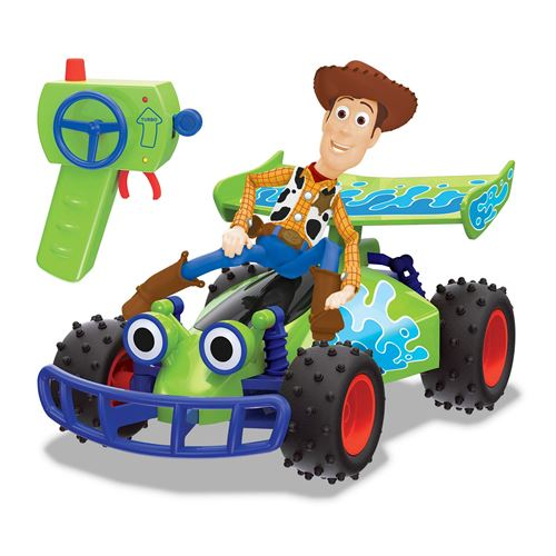 Buggy RC Disney Story Toy Toy avec télécommande Woody