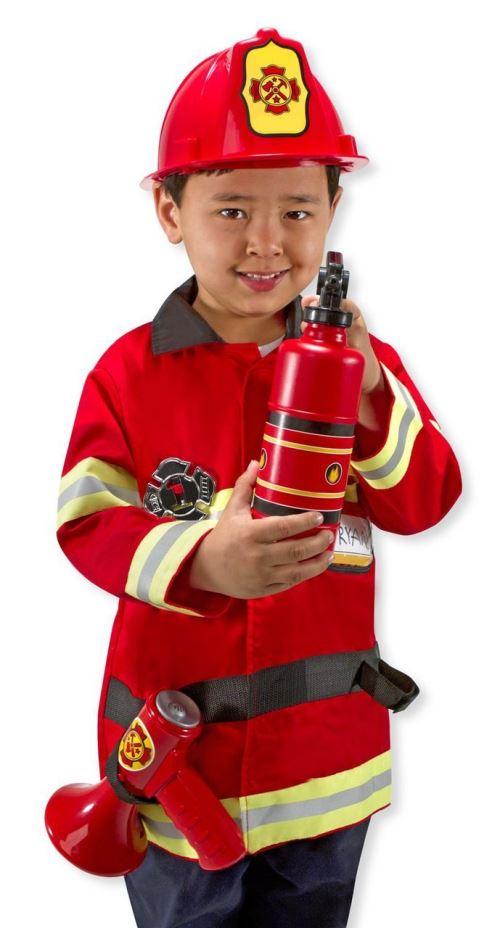 Melissa & Doug Ensemble de jeu de rôle de chef pompier