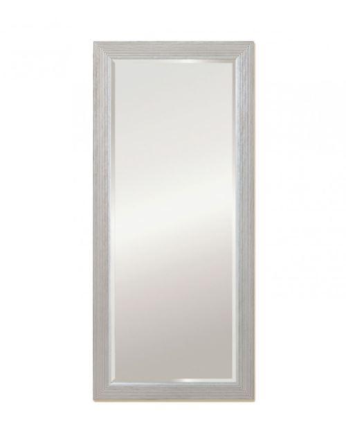 Miroir ATHENS HALL SILVER Traditionnel Classique Rectangulaire Argenté 62x139 cm