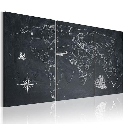 tableau - sur les traces de christophe colomb - artgeist - 60x30