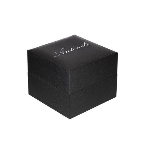 ANTONELI Montre Homme Quartz bracelet Gris En Cuir ANT1090