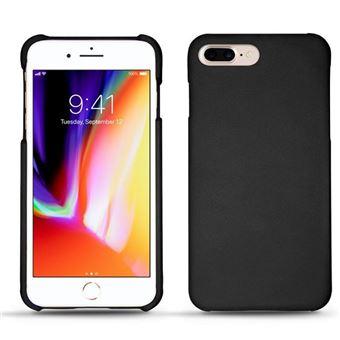 coque iphone 8 plus cuir noir