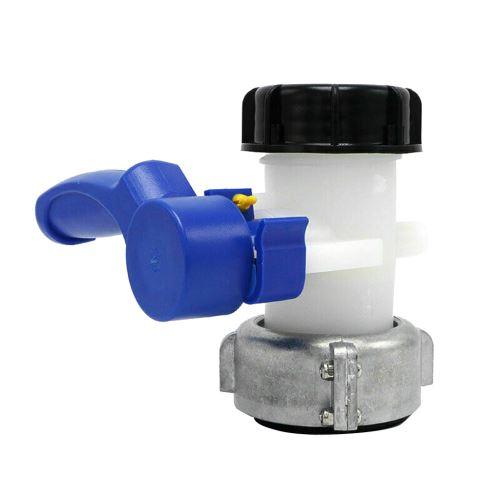 Vanne à boisseau sphérique DN40 / 50 avec rotation libre en aluminium écrou (62mm / 75mm) Nouveau @ZBB90715002