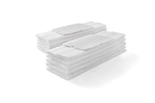 Pack de 10 Lingettes pour balayage à sec iRobot Braava Jet Blanc